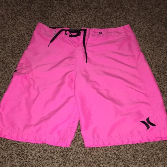 ce3a40e98f Hurley Swim | Mens Neon Pink Board Shorts | Poshmark